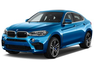 2017 BMW X6 M Sports Activity Coupe Angular Front Exterior View