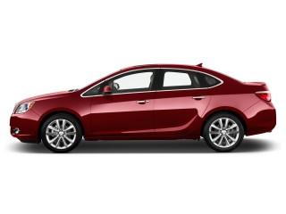2017 Buick Verano 4-door Sedan Leather Group Side Exterior View