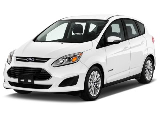 2017 Ford C-Max Hybrid SE FWD Angular Front Exterior View