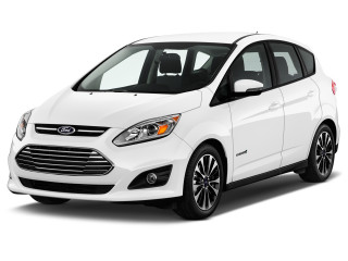 2017 Ford C-Max Hybrid Titanium FWD Angular Front Exterior View