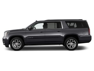 2017 GMC Yukon XL 2WD 4-door SLT Side Exterior View
