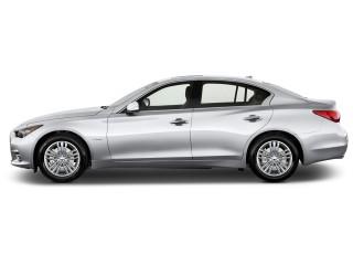 2017 INFINITI Q50 Hybrid RWD Side Exterior View