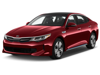 2017 Kia Optima Plug-In Hybrid EX Auto Angular Front Exterior View