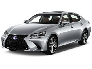 2017 Lexus GS GS 450h F Sport RWD Angular Front Exterior View