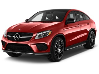 2017 Mercedes-Benz GLE AMG GLE 43 4MATIC Coupe Angular Front Exterior View