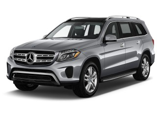 2017 Mercedes-Benz GLS GLS450 4MATIC SUV Angular Front Exterior View