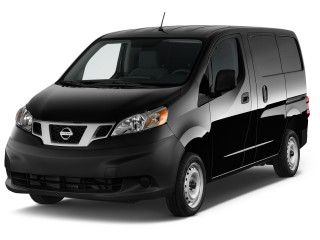 2017 Nissan NV200 Compact Cargo S 2.0L CVT Angular Front Exterior View