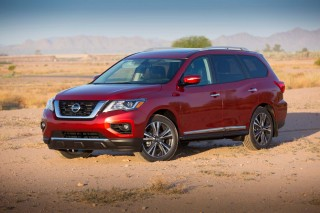 2017 Nissan Pathfinder Review Ratings Specs Prices And Photos The Car Connection