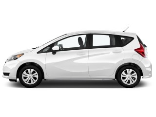 2017 Nissan Versa Note S Plus CVT Side Exterior View