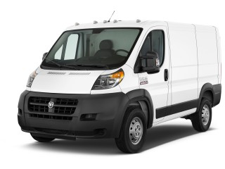 "2017 Ram ProMaster Cargo Van 1500 Low Roof 118"" WB Angular Front Exterior View"
