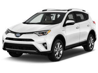 2017 Toyota RAV4 Hybrid Limited AWD (Natl) Angular Front Exterior View