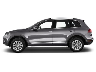 2017 Volkswagen Touareg V6 Sport w/Technology Side Exterior View