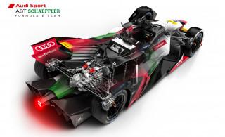 2018/2019 Audi e-tron FE05 Formula E race car