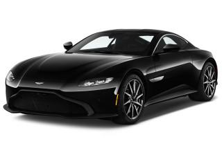 2018 Aston Martin Vantage Coupe Angular Front Exterior View