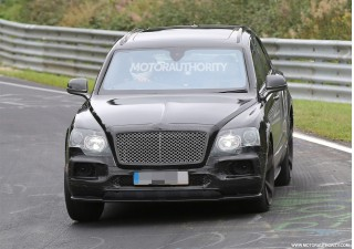 2020 Bentley Bentayga Speed spy shots