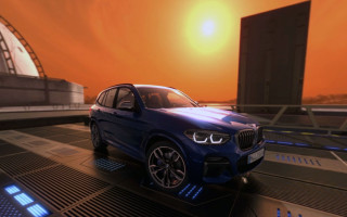 2018 BMW X3 on Mars