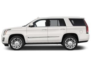 2018 Cadillac Escalade 4WD 4-door Platinum Side Exterior View
