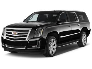 2018 Cadillac Escalade ESV 2WD 4-door Luxury Angular Front Exterior View