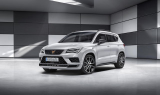 SEAT launches Cupra performance brand with hot Ateca SUV
