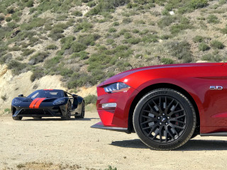 Ford GT and Ford Mustang GT: A celebration of performance