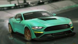 Wide-body Roush among 7 custom Mustangs headed to SEMA