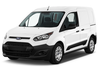 2018 Ford Transit Connect Van XL SWB w/Rear Liftgate Angular Front Exterior View