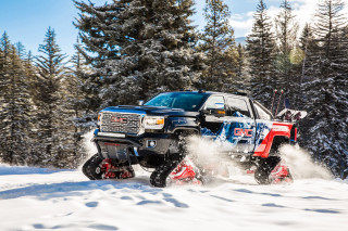 GMC is ready to conquer winter with the Sierra All Mountain concept