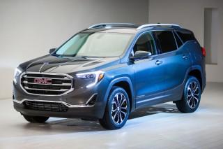 2018 GMC Terrain, 2017 Detroit auto show