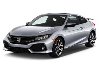 2018 Honda Civic Si Coupe Manual Angular Front Exterior View