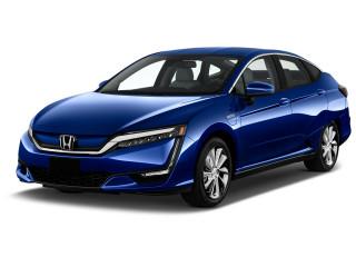 2018 Honda Clarity Electric Sedan Angular Front Exterior View