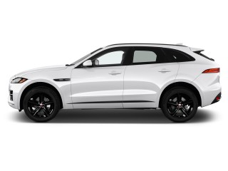 2018 Jaguar F-Pace 20d R-Sport AWD Side Exterior View