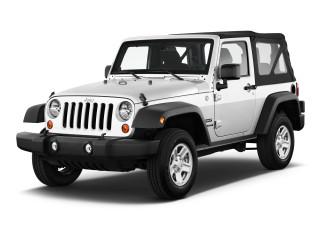 2018 Jeep Wrangler JK Sport 4x4 Angular Front Exterior View