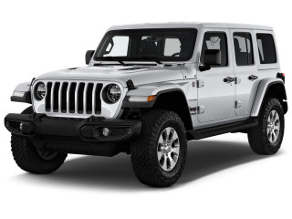2018 Jeep Wrangler Unlimited Sahara 4x4 Angular Front Exterior View