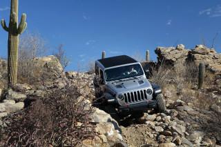 2018 Jeep Wrangler first drive, Tucson, Arizona
