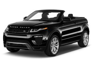 2018 Land Rover Range Rover Evoque Convertible SE Dynamic Angular Front Exterior View