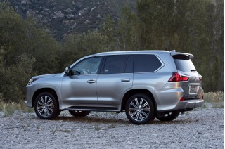 2018 Lexus Lx Review Ratings Specs Prices And Photos The Car