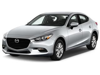 2018 Mazda Mazda3 4-Door Sport Auto Angular Front Exterior View