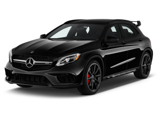 2018 Mercedes-Benz GLA AMG GLA 45 4MATIC SUV Angular Front Exterior View