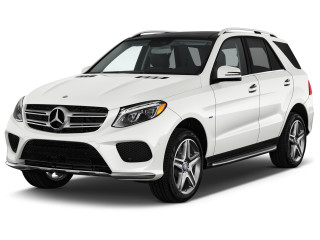 2018 Mercedes-Benz GLE GLE 550e 4MATIC SUV Angular Front Exterior View