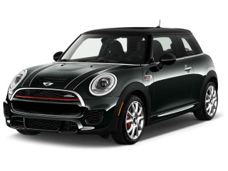 2018 MINI Hardtop 2 Door John Cooper Works FWD Angular Front Exterior View
