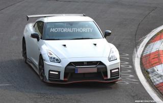 2018 Nissan GT-R Nismo spy shots