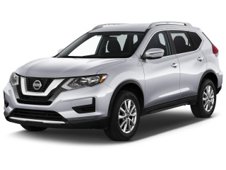2018 Nissan Rogue AWD SV Angular Front Exterior View