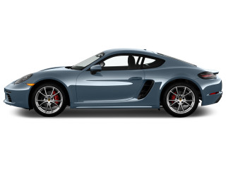 2018 Porsche 718 Cayman S Coupe Side Exterior View