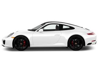 2018 Porsche 911 Carrera S Coupe Side Exterior View