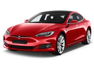2018 Tesla Model S P100D AWD Angular Front Exterior View
