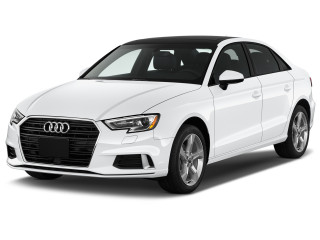 2019 Audi A3 Sedan Premium 40 TFSI Angular Front Exterior View