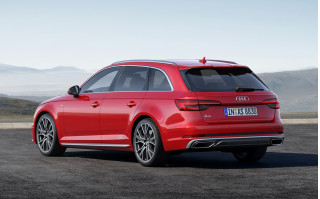 2019 Audi A4 Avant with S Line and Competition packages