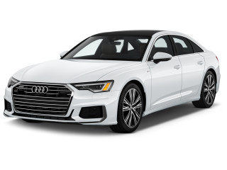 2019 Audi A6 3.0 TFSI Premium Plus quattro AWD Angular Front Exterior View