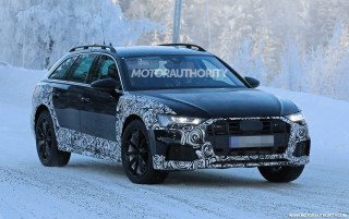 2019 Audi A6 Allroad spy shots