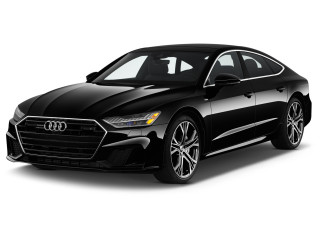 2019 Audi A7 3.0 TFSI Prestige Angular Front Exterior View